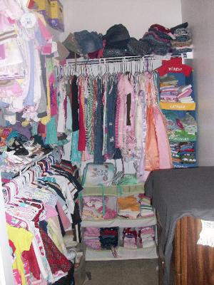 Organizing My Kids Closet